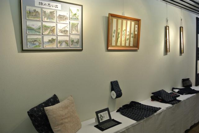 【朝日町】 「八十八歳 二人展」開催中:画像