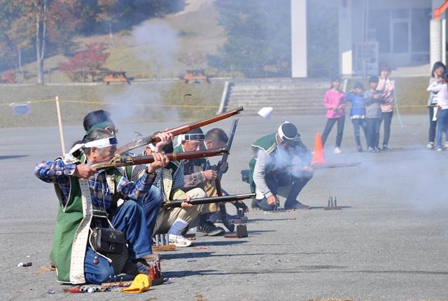 【見学無料】<Asahi自然観>火縄銃の演武練習会※終了しました※:画像