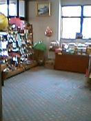 玄関入って左側に売店