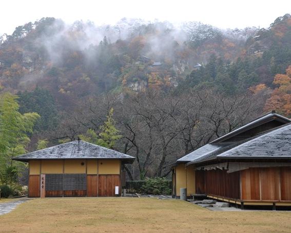 四季の自然 山寺芭蕉記念館周辺...