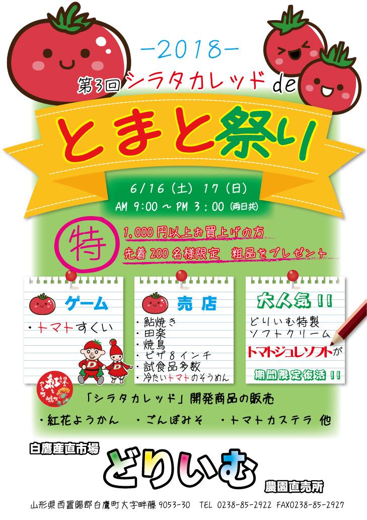 News of 2018 third tomato Festival: Image