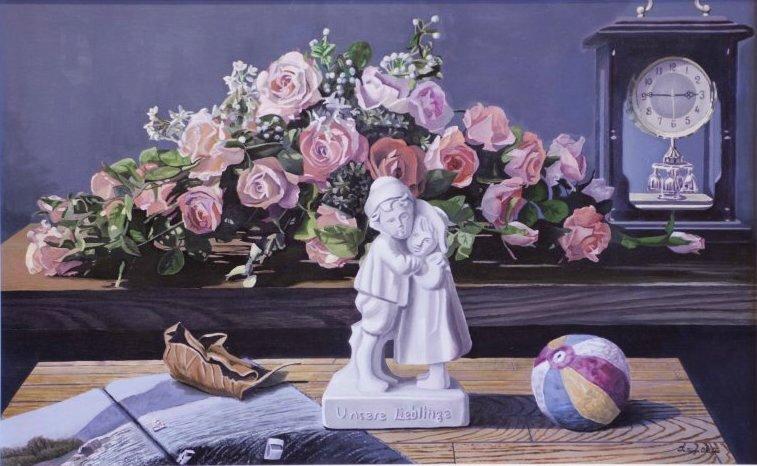 置賜若手作家の展覧会「三月の画廊」出展作品(5):画像