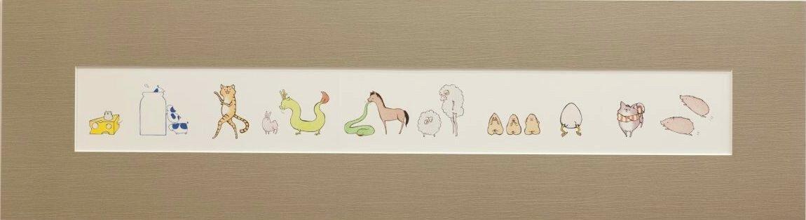 置賜若手作家の展覧会「三月の画廊」出展作品(12):画像