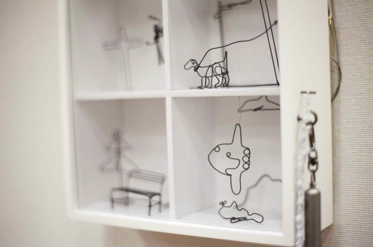 置賜若手作家の展覧会「三月の画廊」出展作品(15):画像