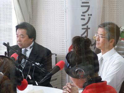 内谷市長と遠藤副市長