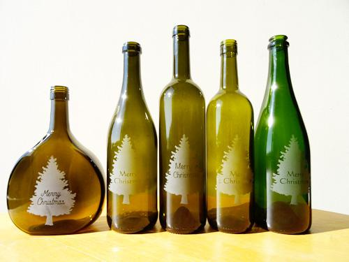 【プレゼント】サンドブラスト加工のボトルを5名さまに!:画像