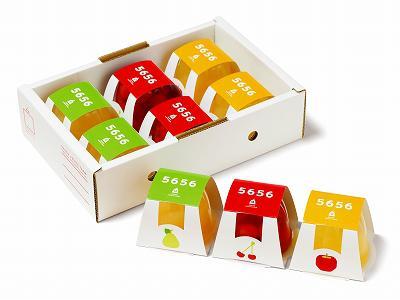 【H29優秀賞】フルーツ5656ゼリー|㈱やまがたさくらんぼファーム(天童市)