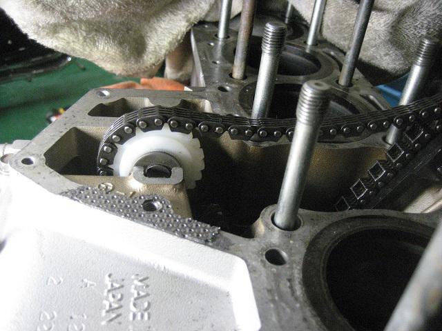 KZ1300 エンジンオーバーホール