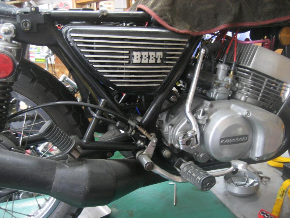 カワサキ SS250 エンジン400cc:画像