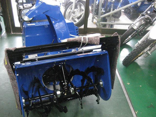 ヤマハ除雪機 YT1070T−B 入荷しました。:画像