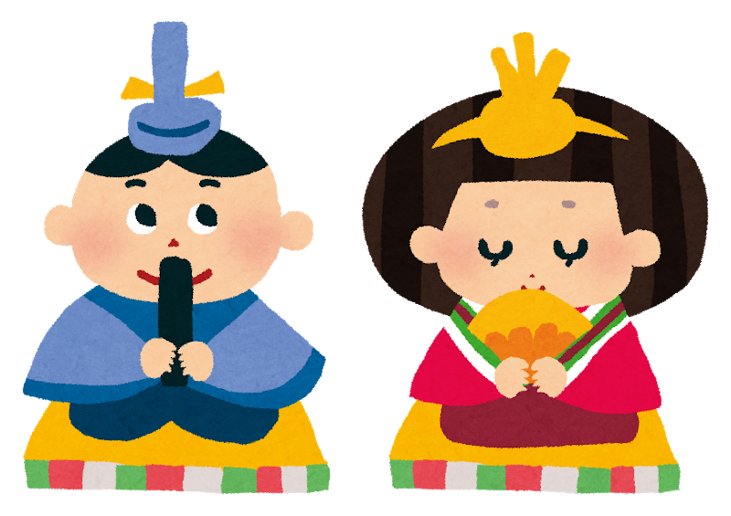 """I raise hina dolls, too"" (I can do it on additional 23rd on the date!) : Image"