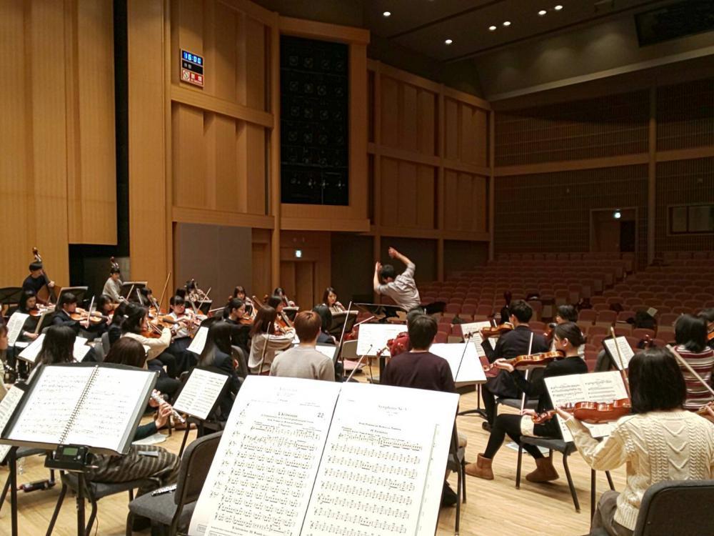 ♪オーケストラ合奏講習会を開催しました