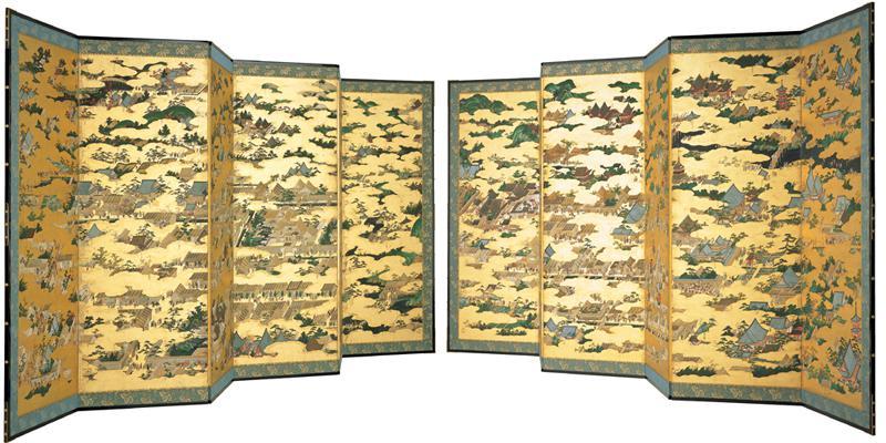 国宝「上杉本洛中洛外図屏風」原本展示のご案内:画像