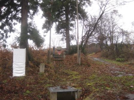 40番目 川西町上奥田飯坂の草木塔