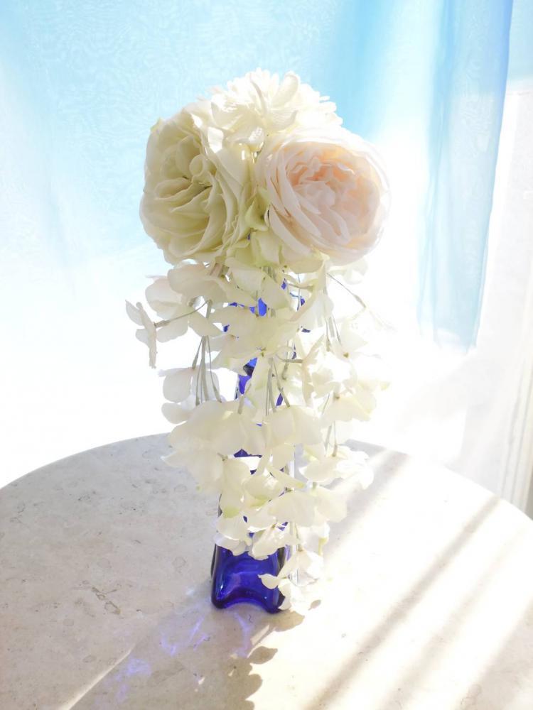 白無垢の和装ブーケ