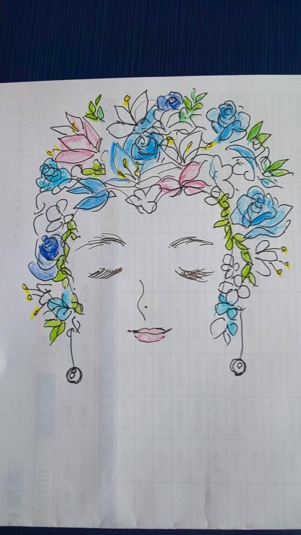 可憐|えがお花-Artificial Flower