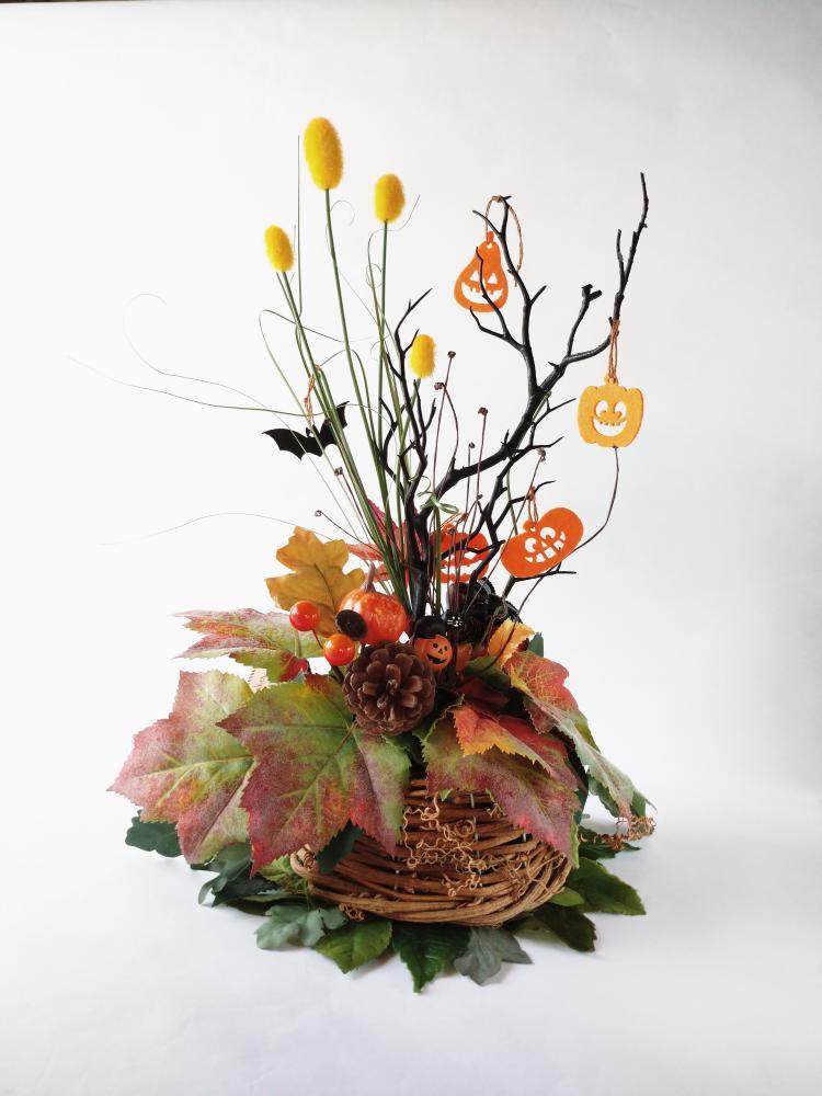 ハロウィン|えがお花-Artificial Flower