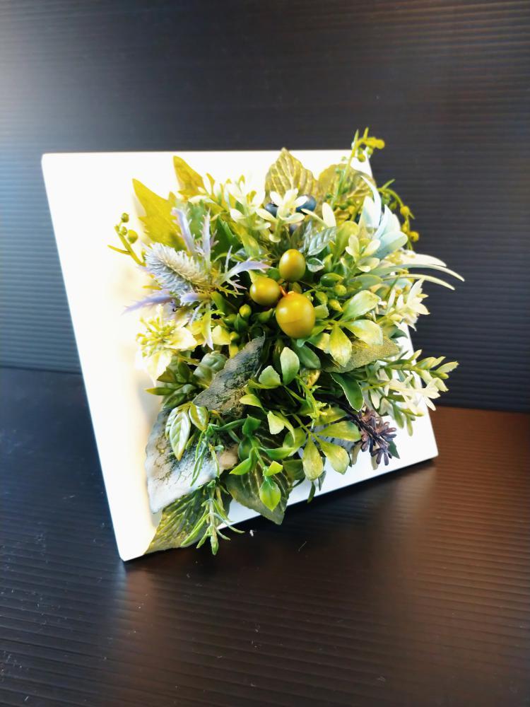 フレームアレンジ|えがお花- Artificial Flower