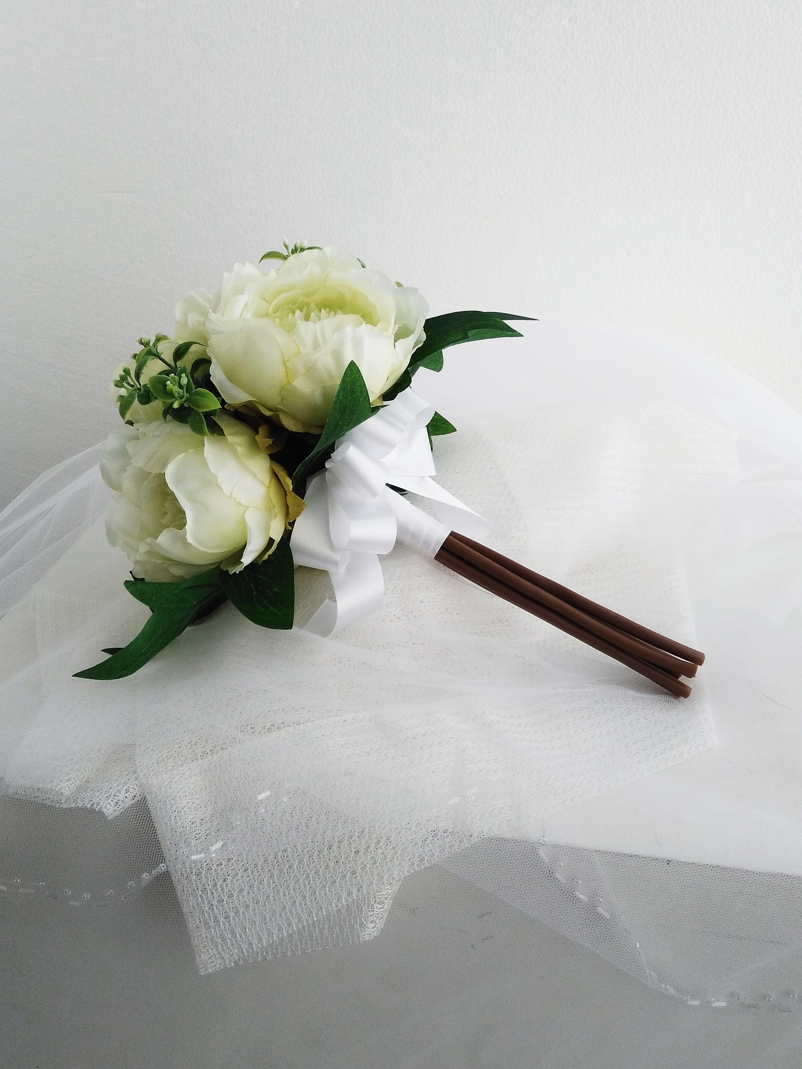 ころころブーケ|えがお花-Artificial Flower