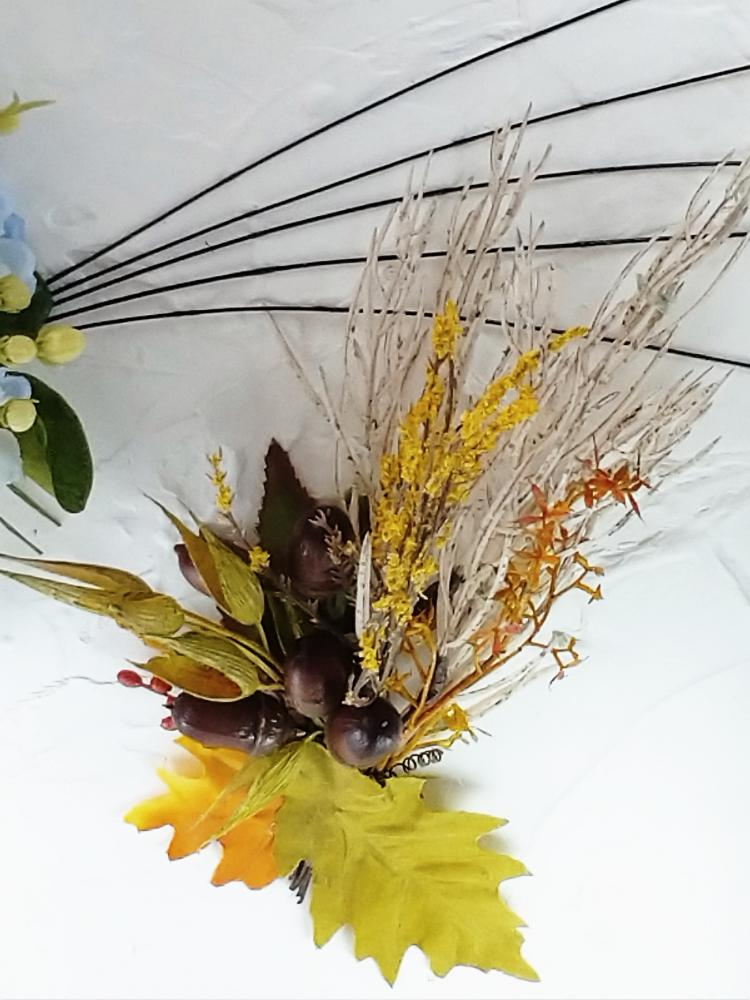秋/漆喰の塗り×Artificial Flower