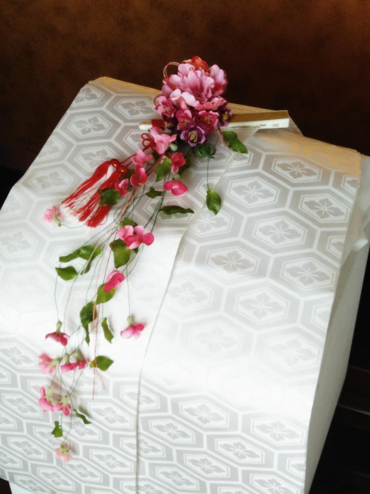 和装ブーケ|えがお花アーティフィシャルフラワー