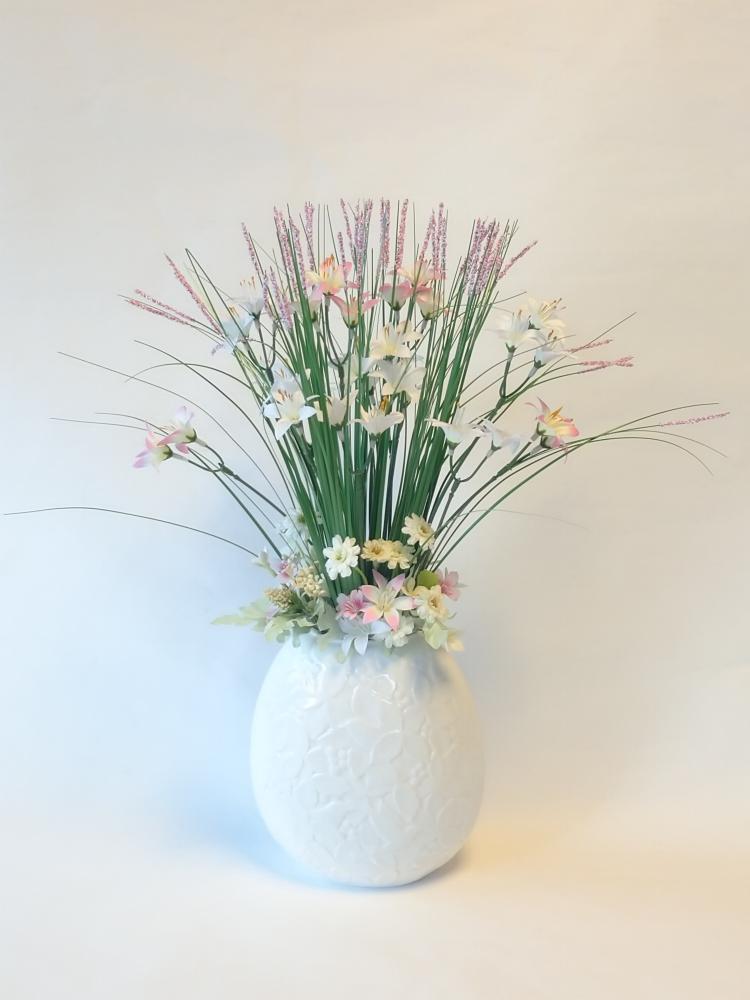 春のおとずれ えがお花-アーテイフィッシャルフラワー