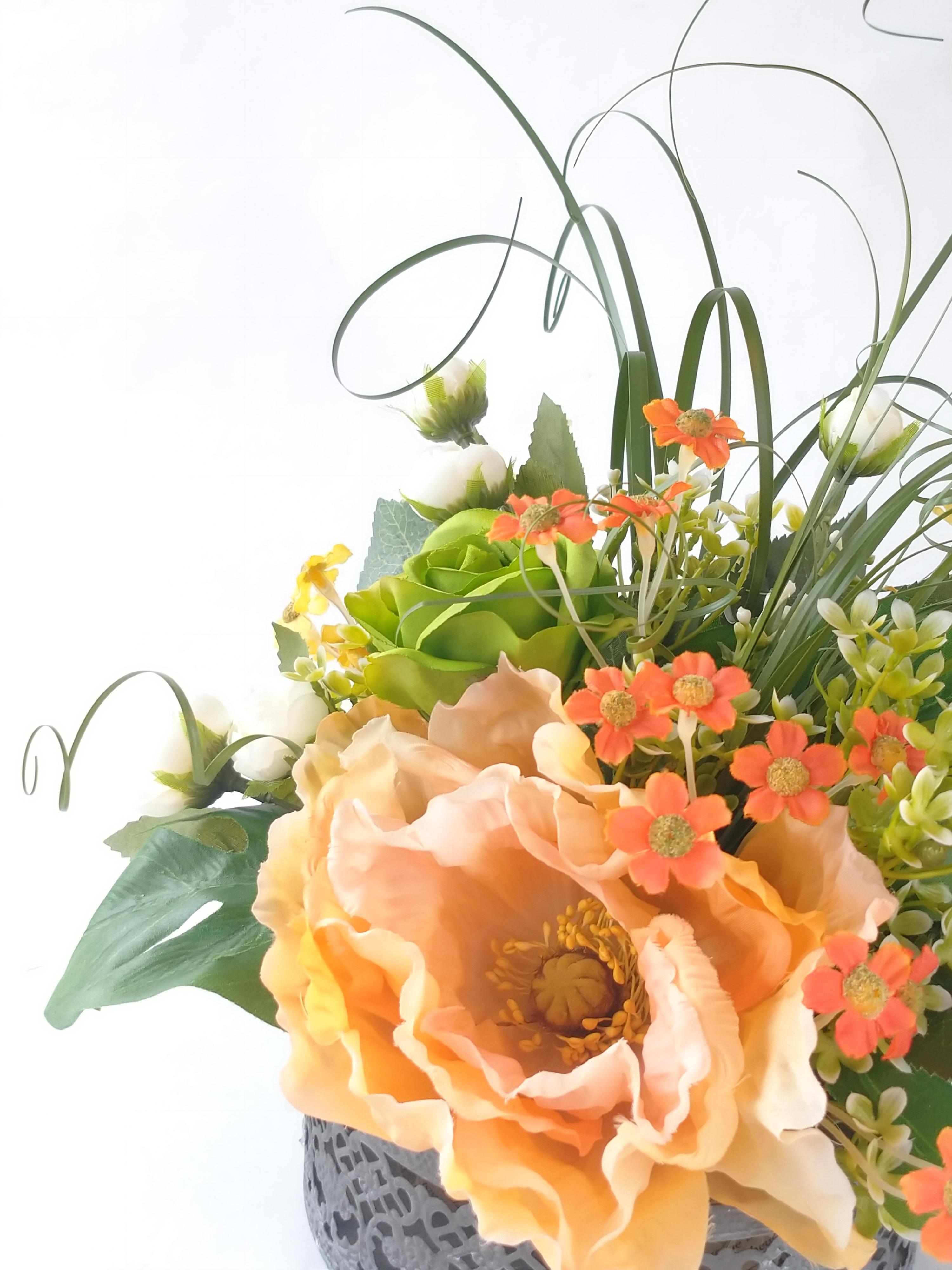 春のお散歩|えがお花-アーテイフィッシャルフラワー