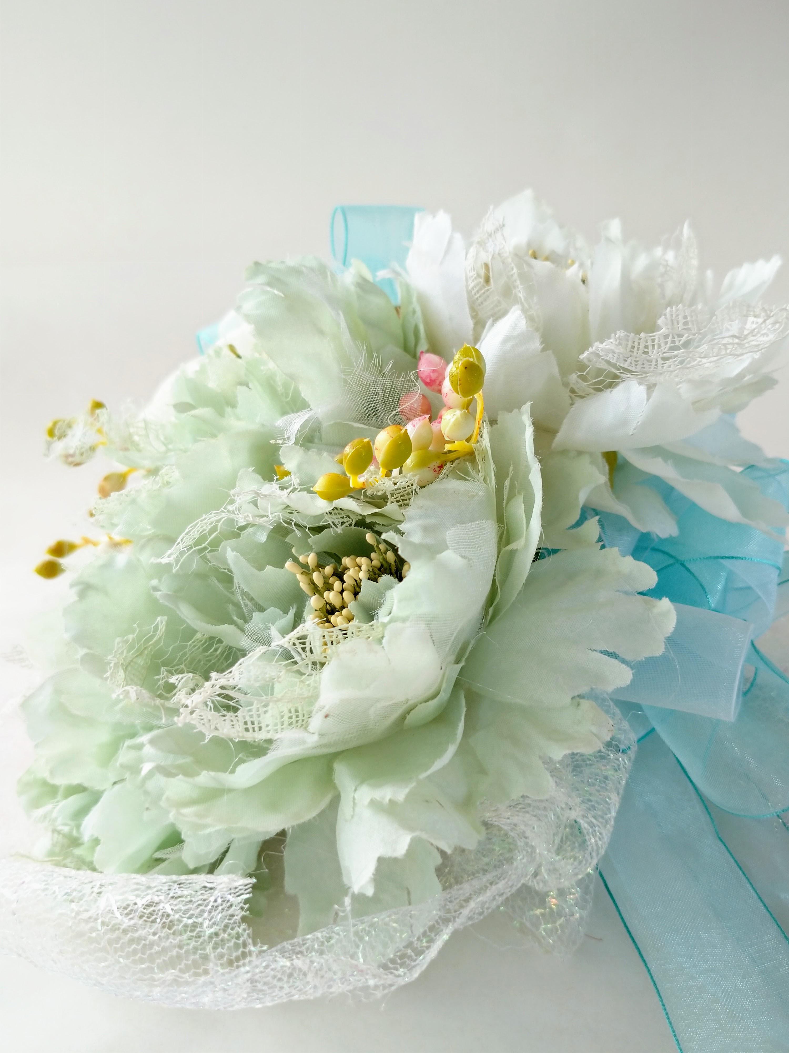 花束|えがお花-アーテイフィッシャルフラワー
