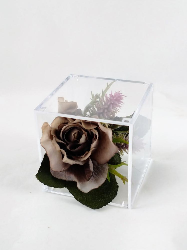 てのり花-黒いバラ|アーテイフィッシャルフラワー