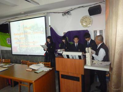 取り合えず速報「台南大学付属高校との姉妹校締結&人材育成」台湾研修