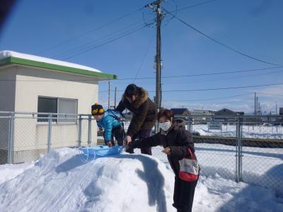 羽前小松駅前雪まつりにお出でいただき、ありがとうございました!