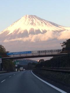 一年前の富士山!:画像