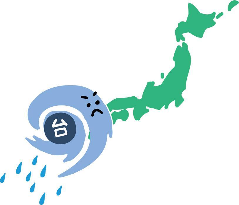 台風が・・・:画像