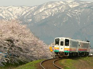 2010/03/13 19:30/山形鉄道(通称:フラワー長井線)
