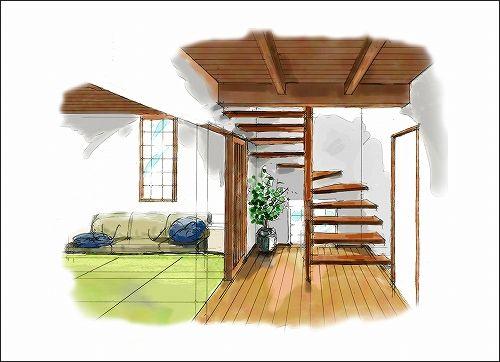 「「季楽な家」イメージ作成 No.01」の画像