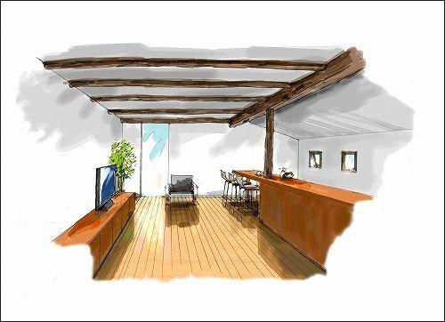 「「季楽な家」イメージ作成 No.09」の画像