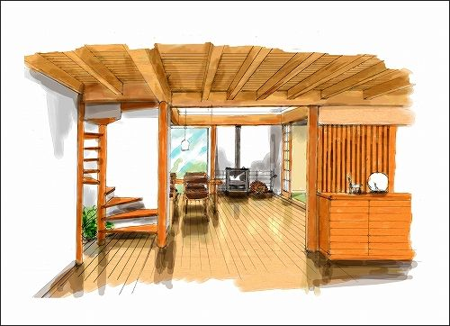 「「季楽な家」イメージ作成 No.06」の画像