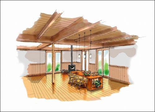 「「季楽な家」イメージ作成 No.03」の画像