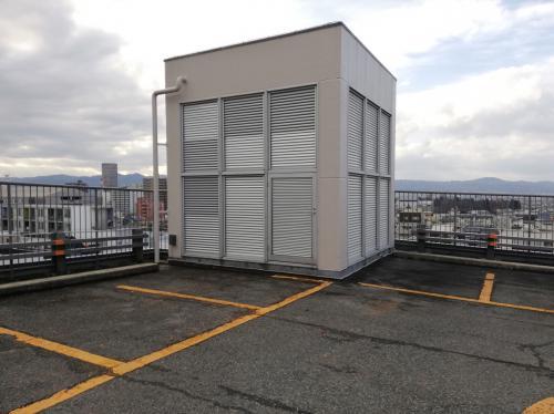 山形市中央駐車場東面外壁改修工事 完成しました!