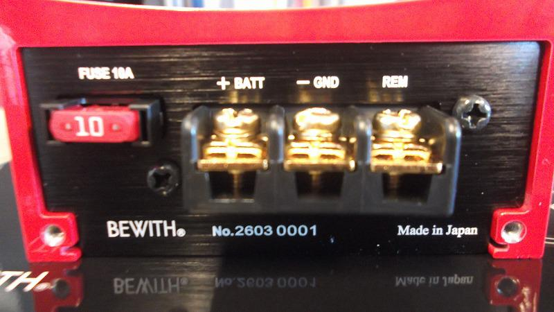 ★★BEWITH R-107S Rosso★★
