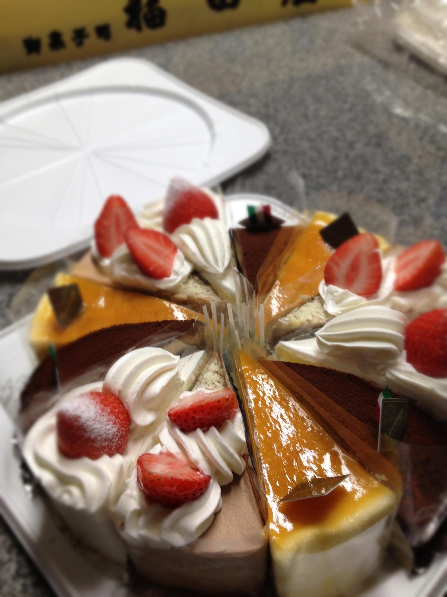 よりどりみどりのバースデイケーキ:画像