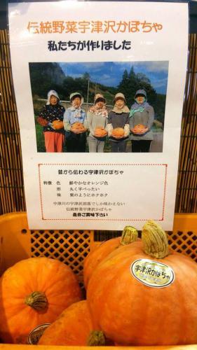 秋旬の食材 かぼちゃ:画像