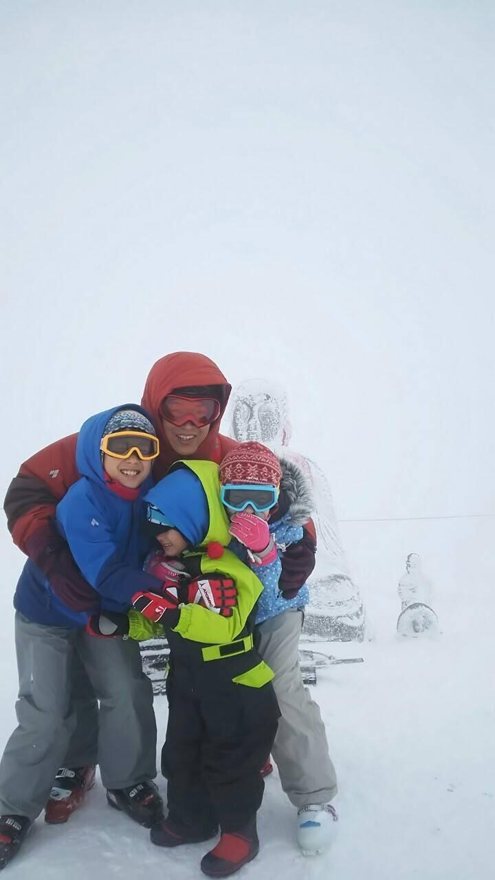初詣 初スキー 初温泉