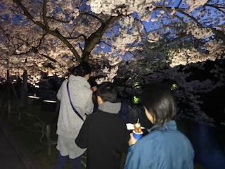 上杉神社 昼と夜/