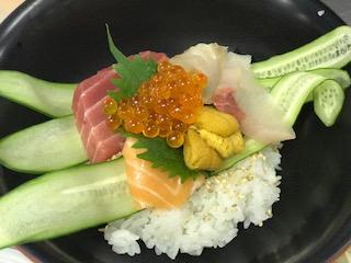 【海鮮丼】お客様のリクエストにお応えして作りました