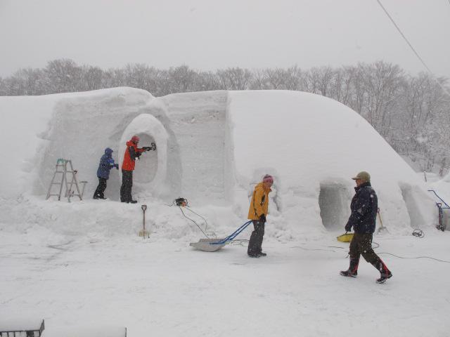 雪は多度作り 2