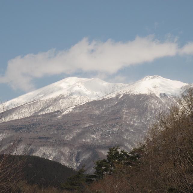 七ヶ宿より蔵王山