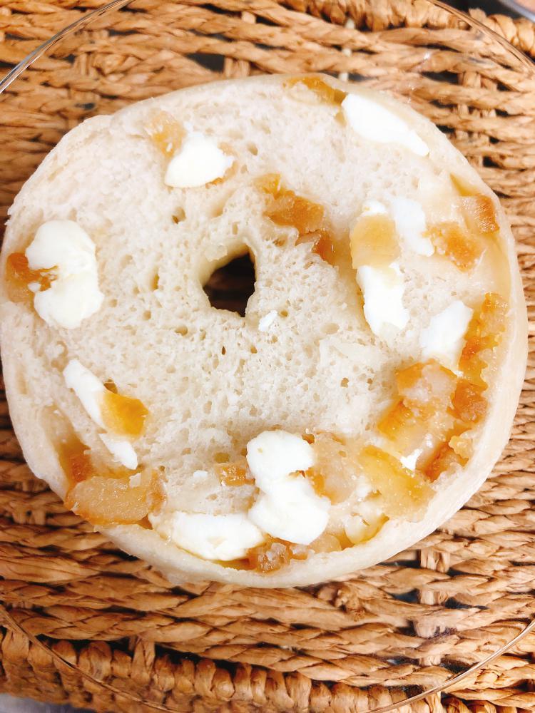 レモンクリームチーズベーグル!:画像