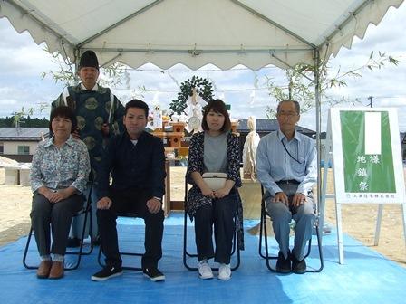 祝地鎮祭 フォレストヒルズ利府菅谷 F様邸:画像