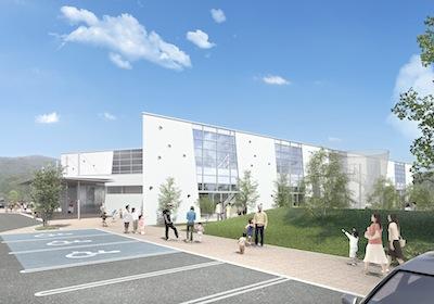 2013/12/18 14:12/天童市子育て支援センターが着工しました!
